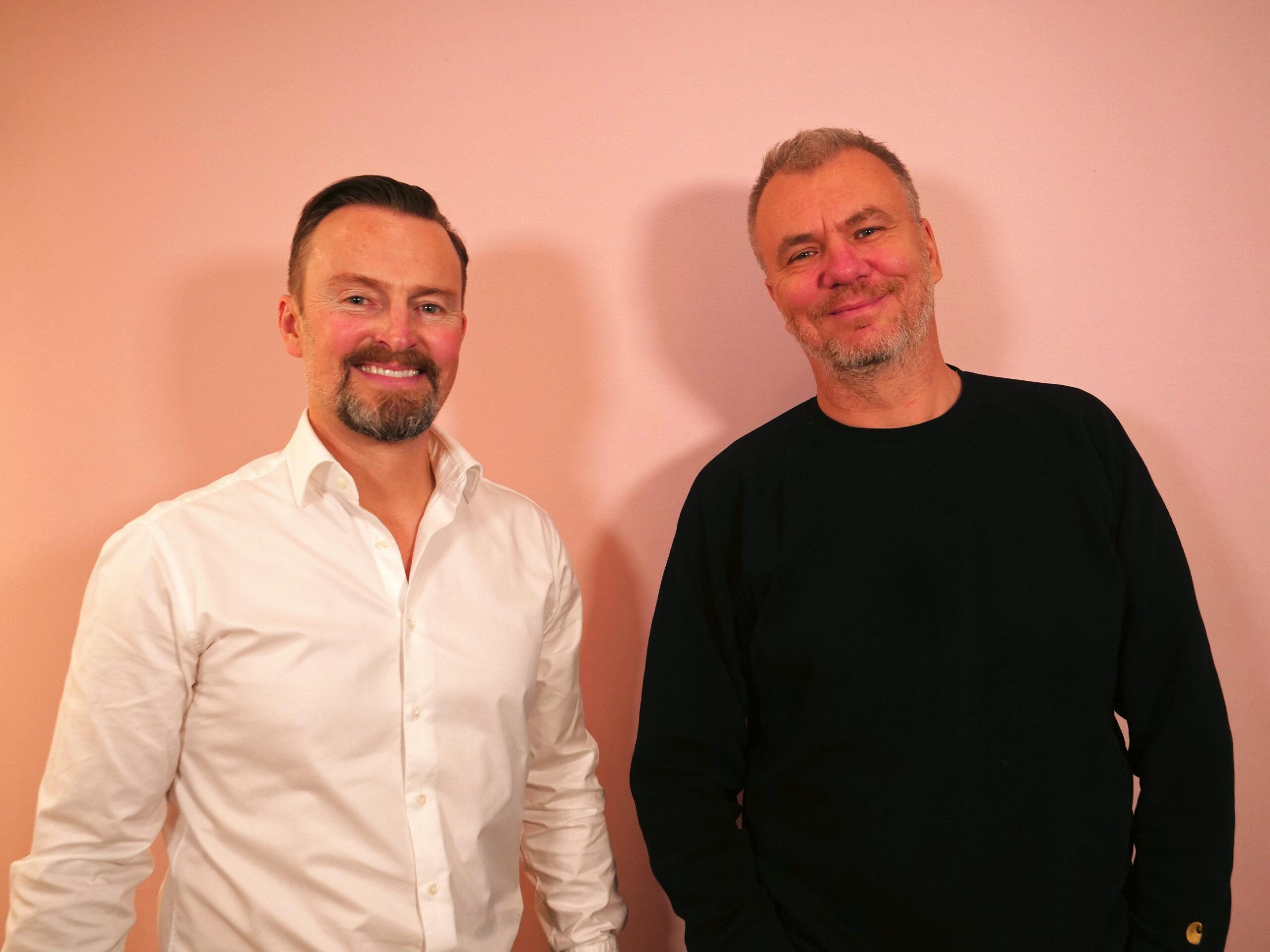 Walther Rebernik og Jesper Stein til Storydays