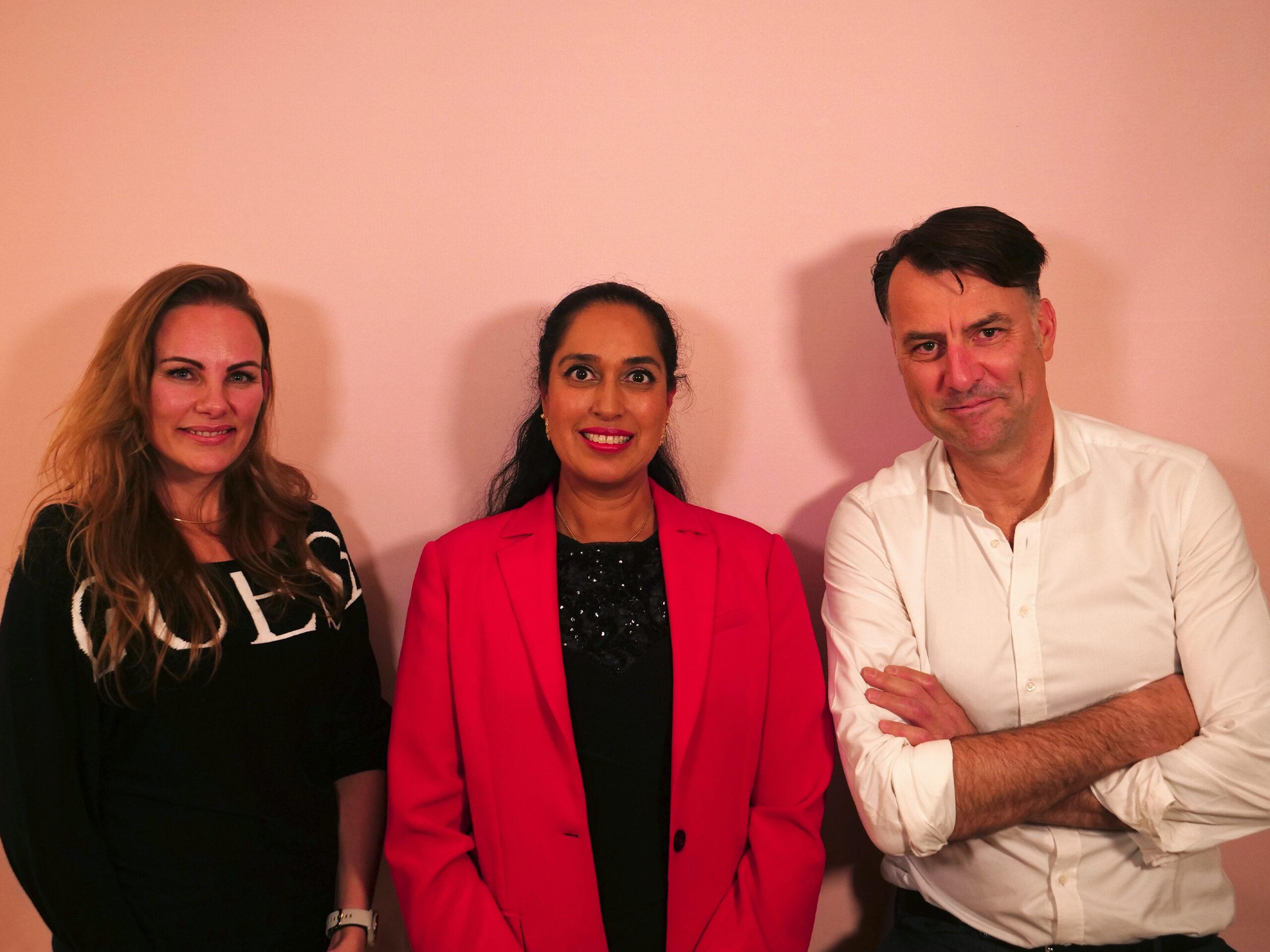 Sanne Østergaard, Rushy Rashid Højbjerg og Mikael Kamber til Storydays