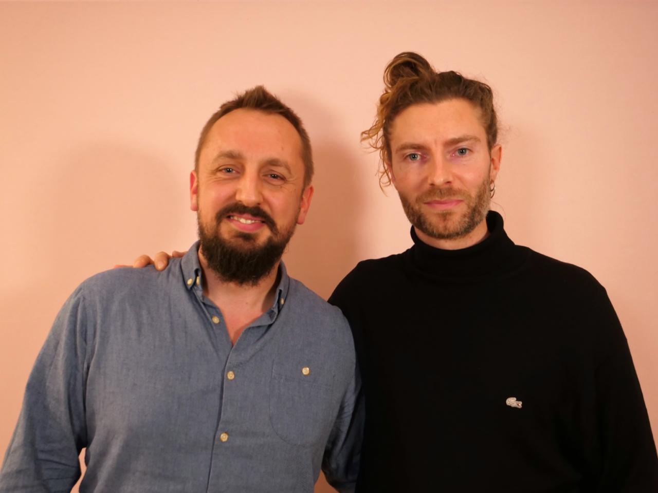 Bo Nordstrøm Weile og Jesper Vestergaard Larsen til Storydays