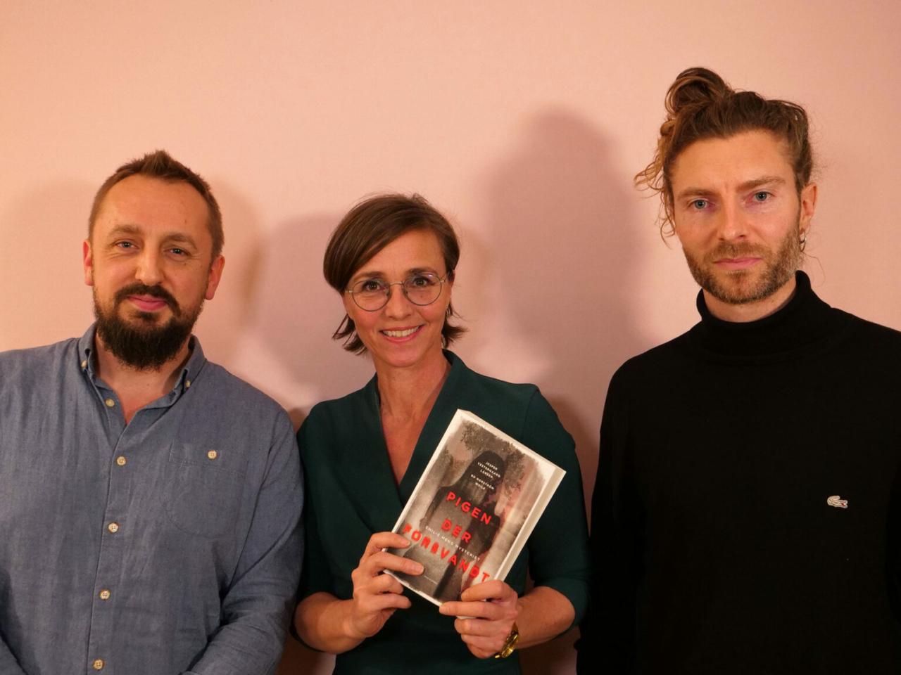 Bo Nordstrøm Weile, Marie Louise Toksvig og Jesper Vestergaard Larsen til Storydays