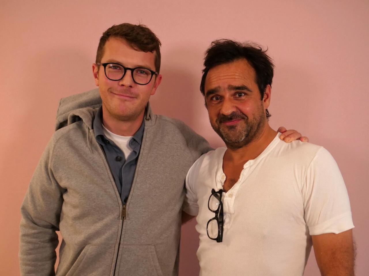 Sigurd Hartkorn Plaetner og Hassan Preisler til Storydays