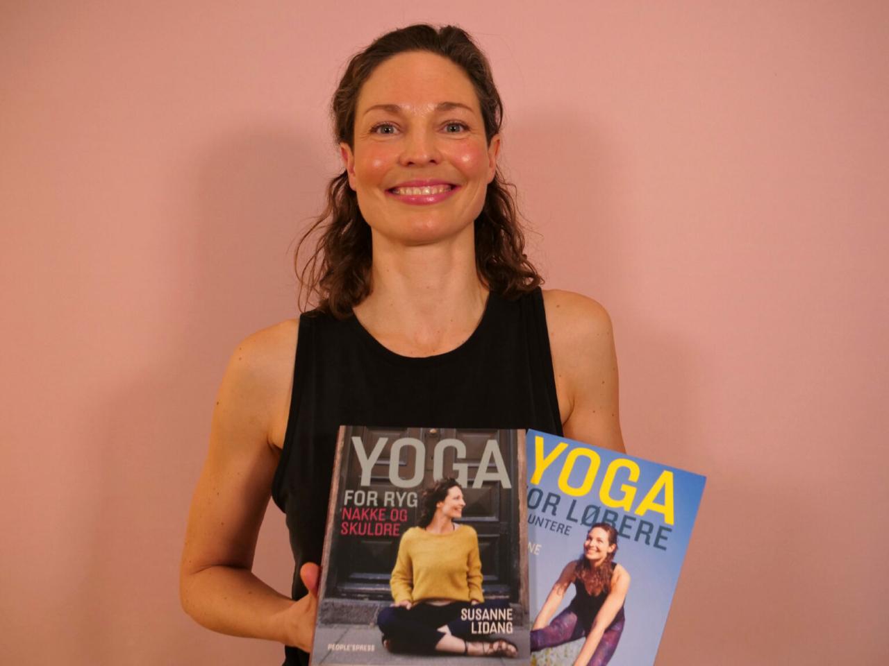 Susanne Lidang - yoga for løbere til Storydays