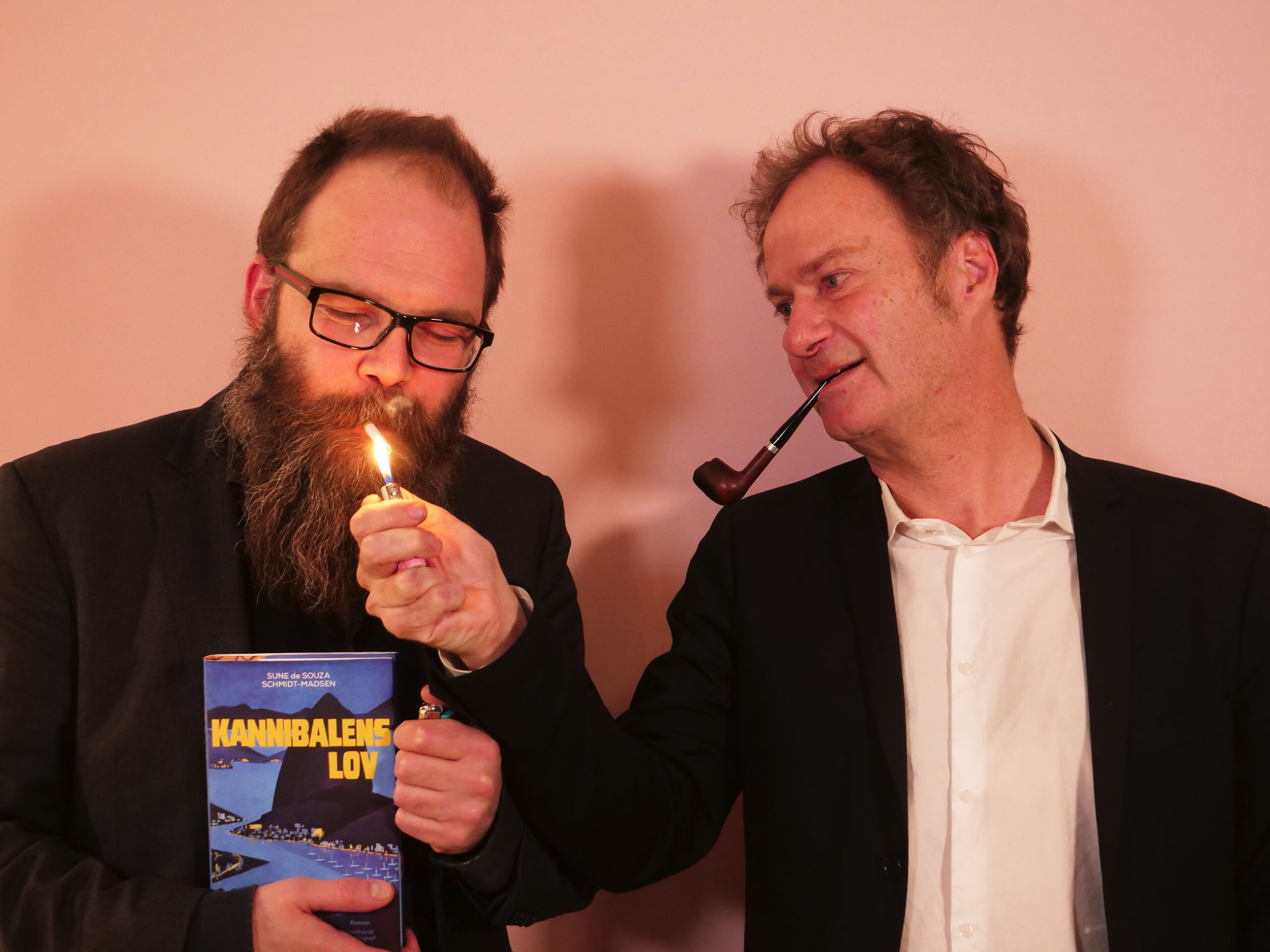 Sune de Souza Schmidt-Madsen og Knud Romer til Storydays