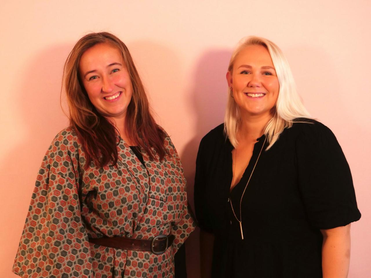 Laura Vilsgaard og Cecilie Schmeichel til Storydays